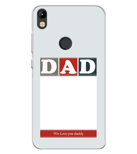 Love Dad Back Cover for Tecno Camon I