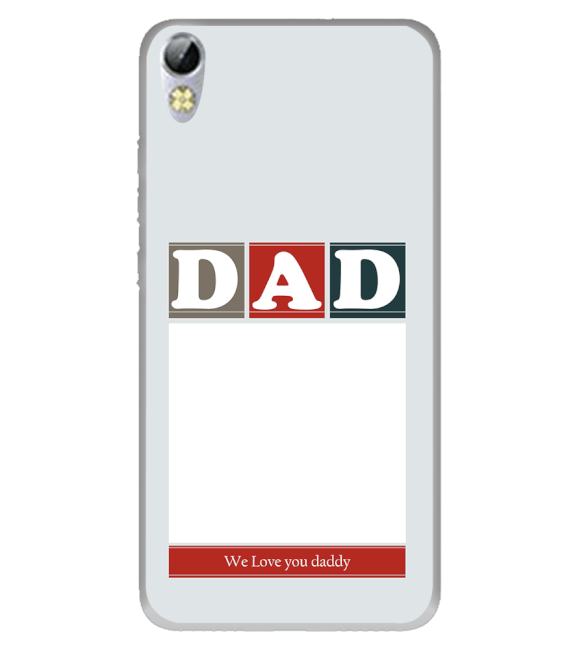 Love Dad Back Cover for Tecno I3 Pro