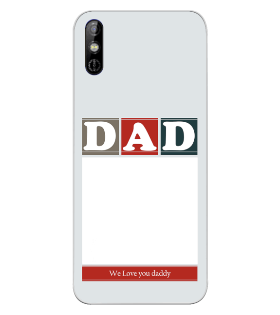 Love Dad Back Cover for Tecno Spark Go