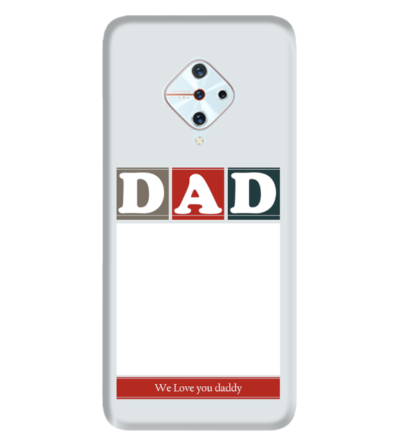 Love Dad Back Cover for Vivo S1 Pro
