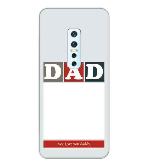 Love Dad Back Cover for Vivo V17 Pro