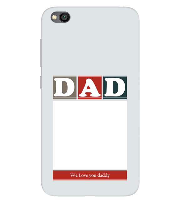Love Dad Back Cover for Xiaomi Redmi Go