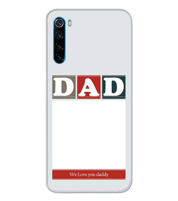 Love Dad Back Cover for Xiaomi Redmi Note 8