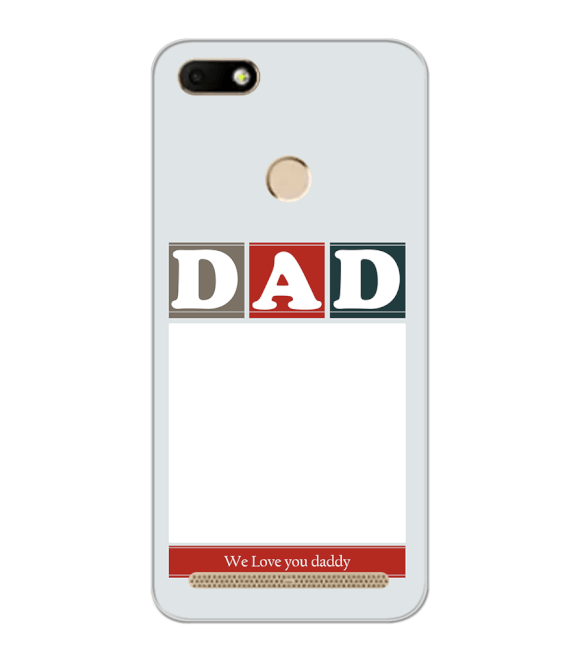 Love Dad Back Cover for YU Ace