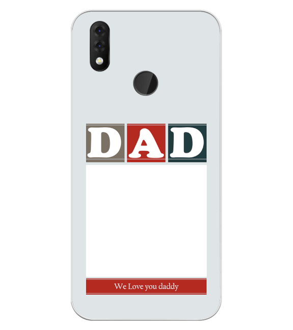 Love Dad Back Cover for Yuho Netra