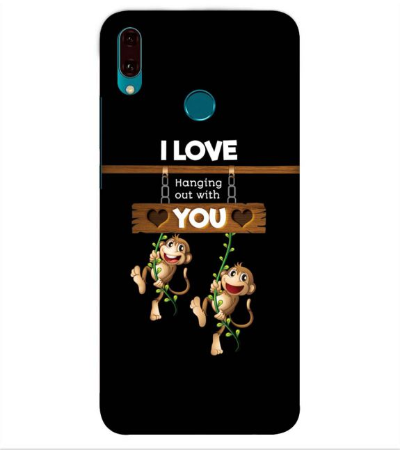 Love Hanging Out Back Cover for Huawei Y9 (2019)