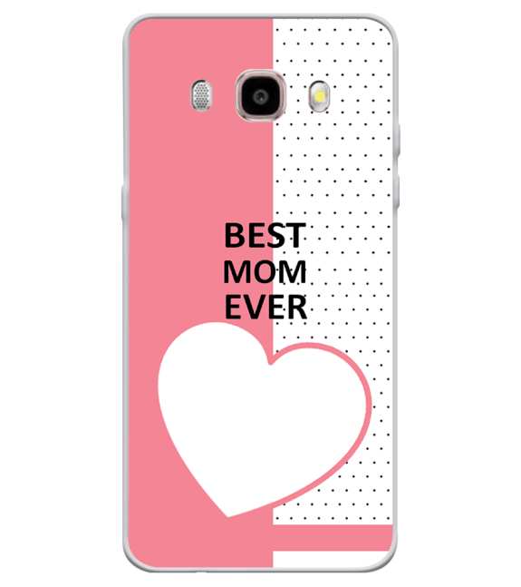 Love Mom Back Cover for Samsung Galaxy J7 (6) 2016 : Galaxy On 8