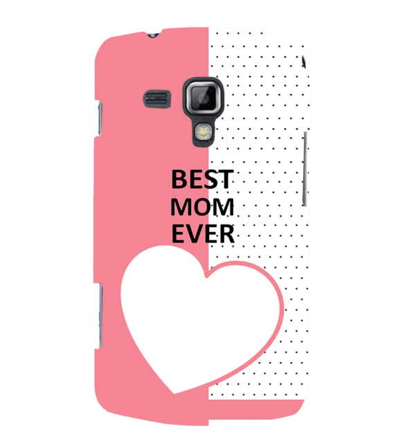 Love Mom Back Cover for Samsung Galaxy S Duos and S Duos 2