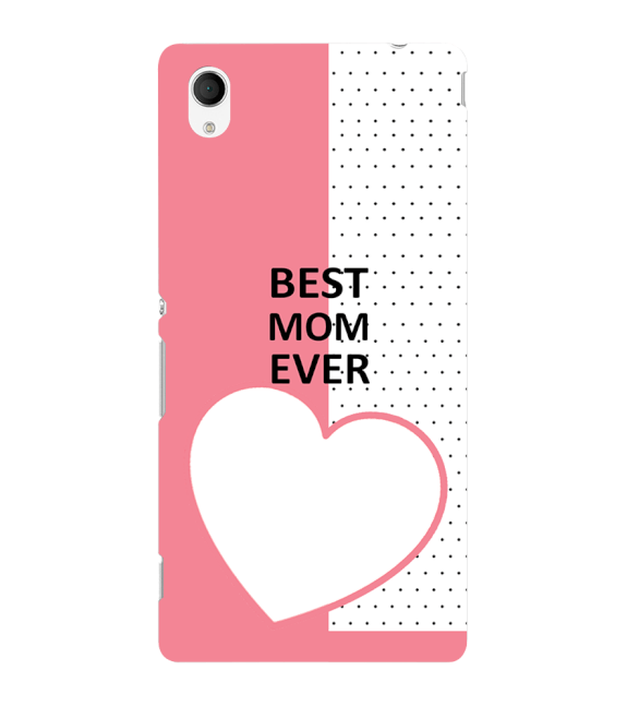 Love Mom Back Cover for Sony Xperia M4 Aqua
