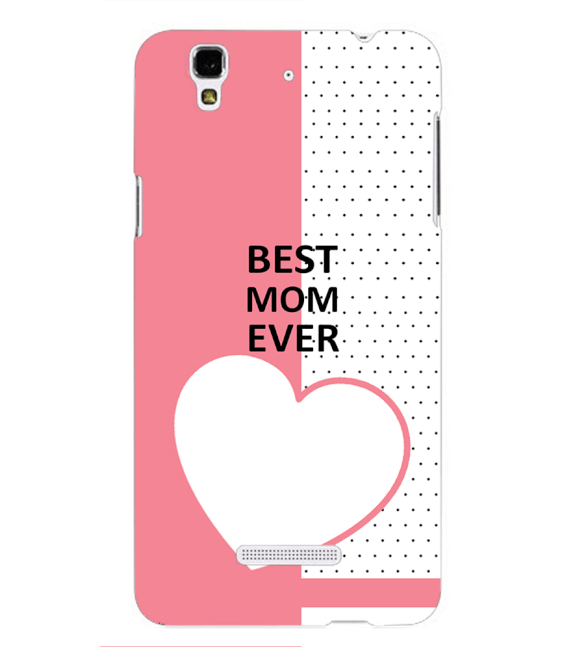 Love Mom Back Cover for Yu Yureka Plus