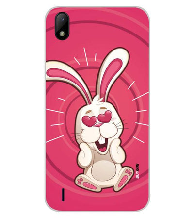 Love Rabbit Back Cover for Lava Z41