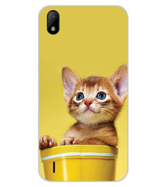 Lovely Cat Back Cover for Lava Z41