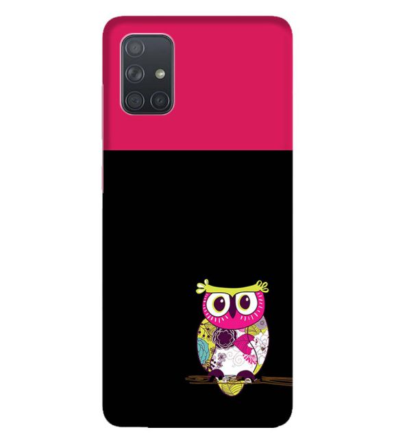 Lovely Owl Back Cover for Samsung Galaxy A71