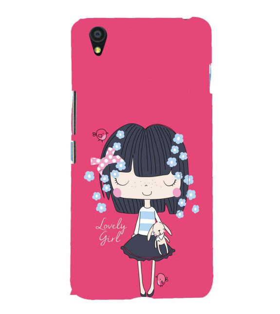 Loving Girl Back Cover for OnePlus X