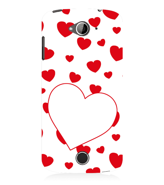 Loving Hearts Back Cover for Acer Liquid Zade 530