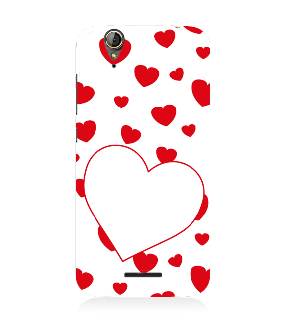 Loving Hearts Back Cover for Acer Liquid Zade 630