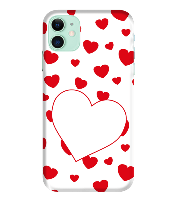 Loving Hearts Back Cover for Apple iPhone 11