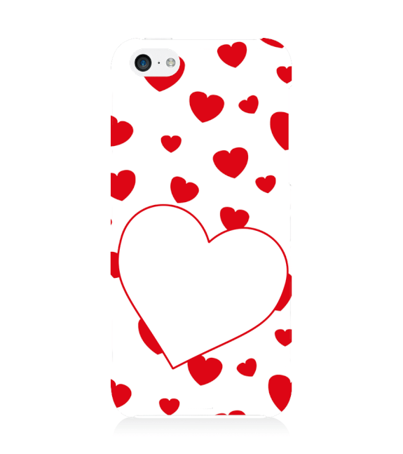 Loving Hearts Back Cover for Apple iPhone 5c