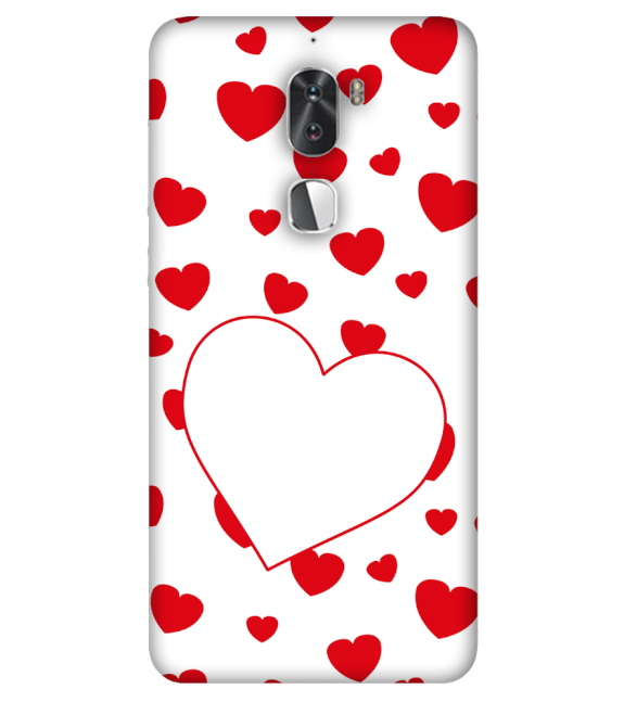 Loving Hearts Back Cover for Coolpad Cool 1