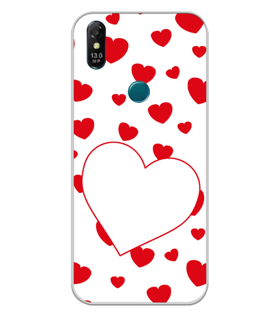 Loving Hearts Back Cover for Coolpad Cool 3 Plus
