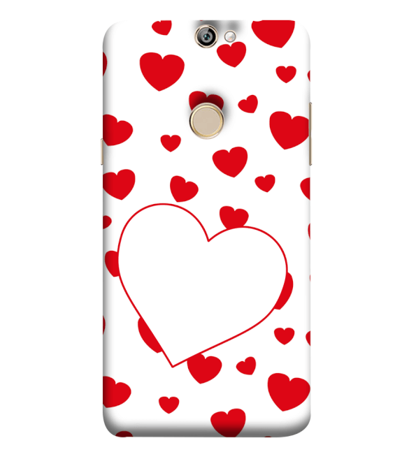 Loving Hearts Back Cover for Coolpad Max A8