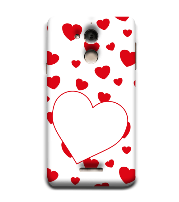 Loving Hearts Back Cover for Coolpad Note 5
