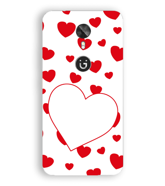 Loving Hearts Back Cover for Gionee A1