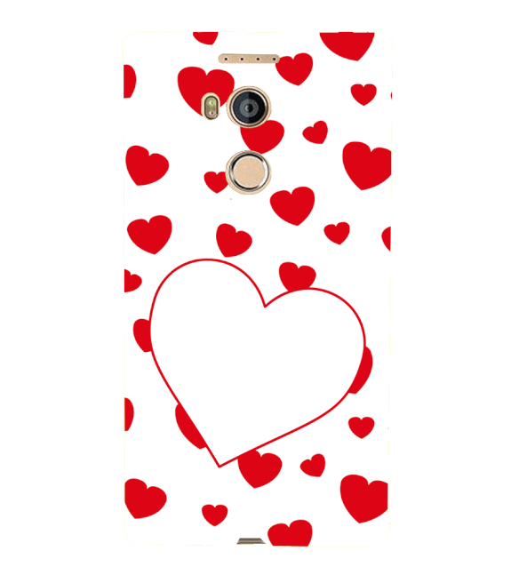Loving Hearts Back Cover for Gionee Elife E8