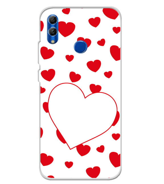 Loving Hearts Back Cover for Honor 10 Lite