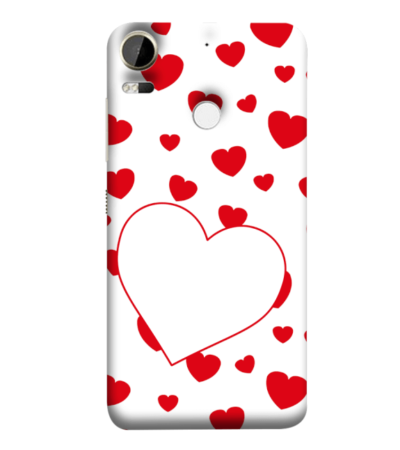 Loving Hearts Back Cover for HTC Desire 10 Pro