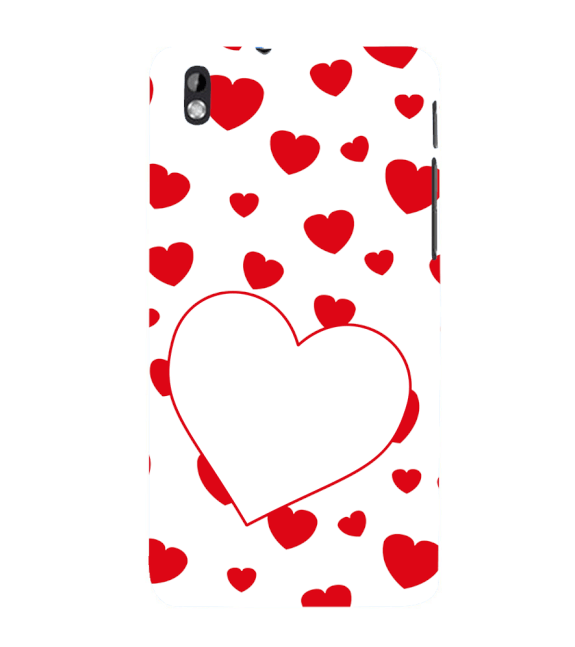 Loving Hearts Back Cover for HTC Desire 816