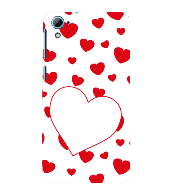 Loving Hearts Back Cover for HTC Desire 826