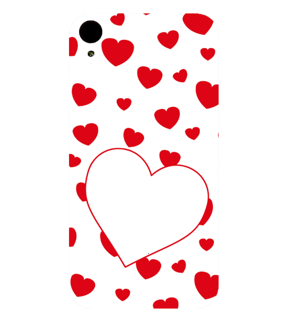 Loving Hearts Back Cover for HTC Desire 830