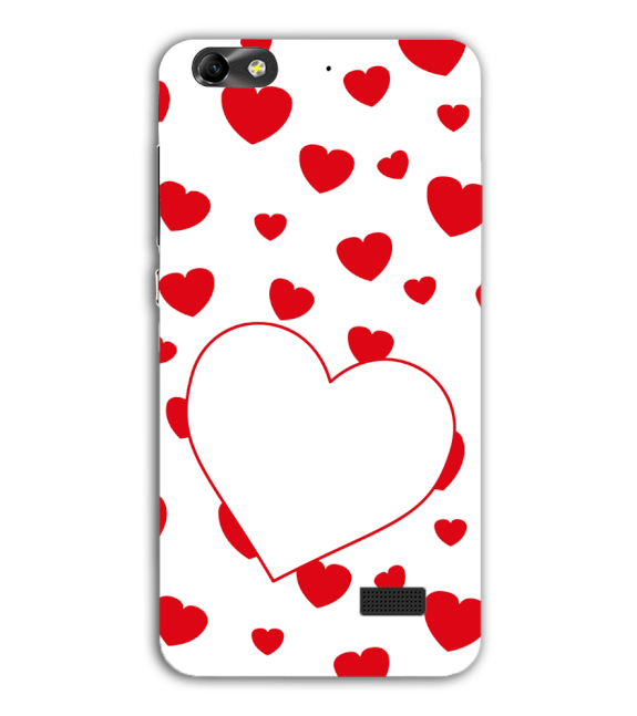 Loving Hearts Back Cover for Huawei Honor 4C
