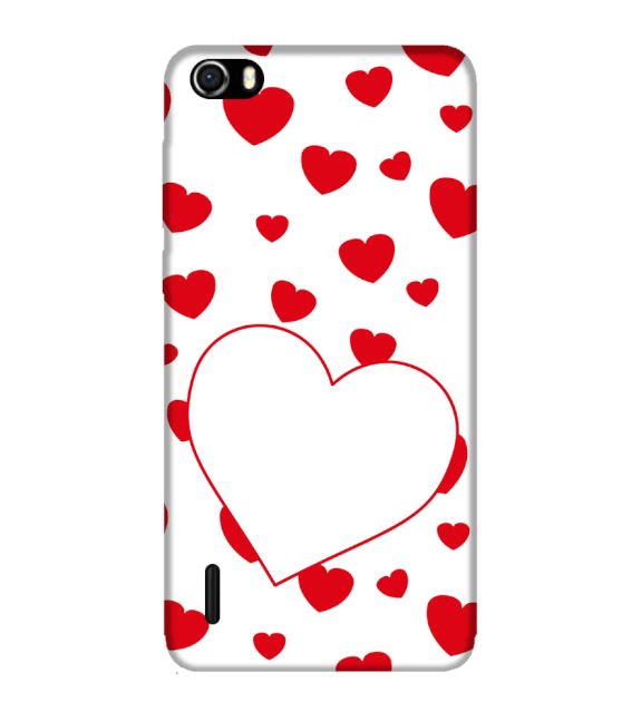 Loving Hearts Back Cover for Huawei Honor 6