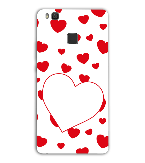 Loving Hearts Back Cover for Huawei Honor 8 Smart
