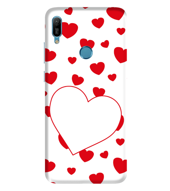 Loving Hearts Back Cover for Huawei Y6 Prime (2019)