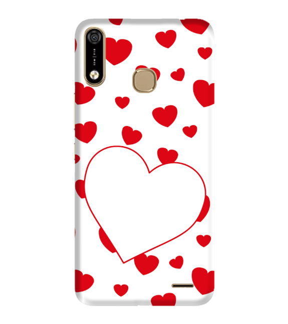 Loving Hearts Back Cover for Infinix Hot 7 Pro