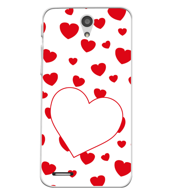 Loving Hearts Back Cover for InFocus M260