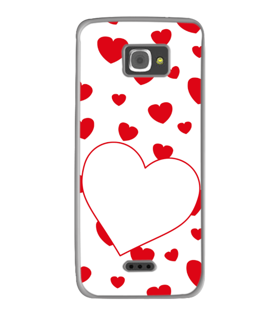 Loving Hearts Back Cover for InFocus M350