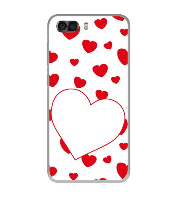 Loving Hearts Back Cover for InFocus Turbo 5 Plus