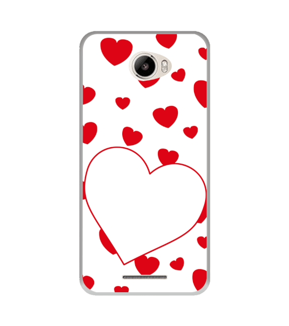 Loving Hearts Back Cover for Intex Intx Trend Lite