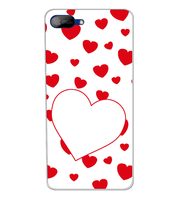 Loving Hearts Back Cover for Itel A25