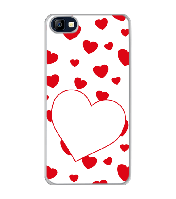 Loving Hearts Back Cover for Karbonn K9 Smart Selfie