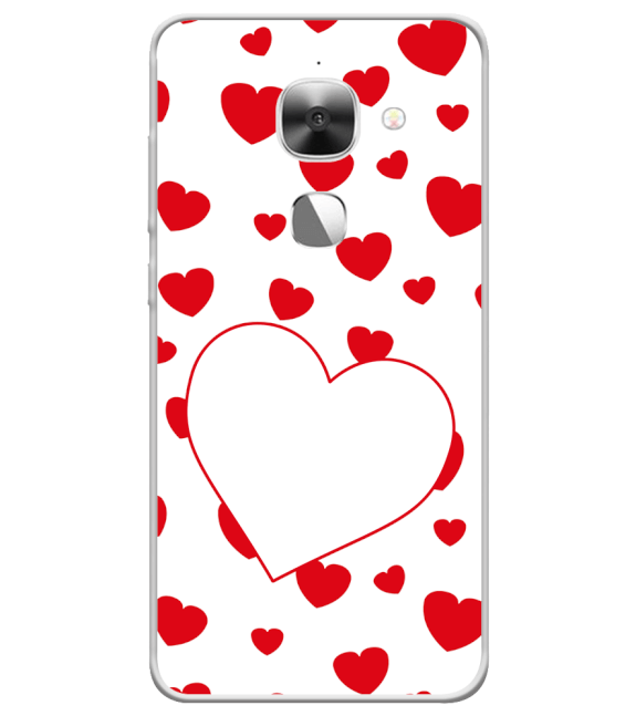 Loving Hearts Back Cover for LeEco Le 2s