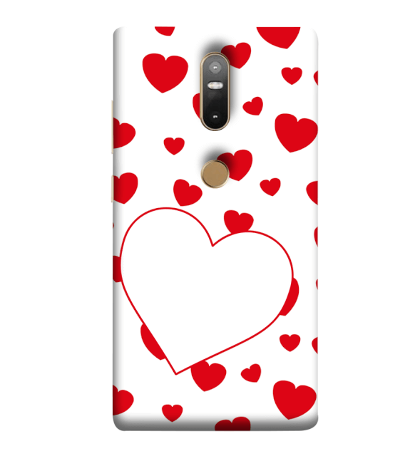 Loving Hearts Back Cover for Lenovo Phab 2 Plus