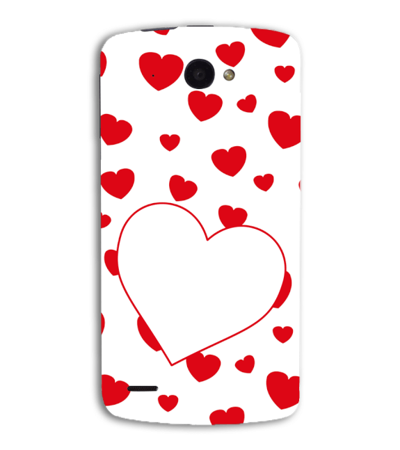 Loving Hearts Back Cover for Lenovo S920