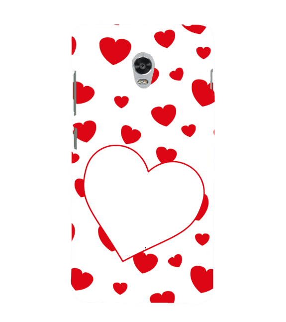 Loving Hearts Back Cover for Lenovo Vibe P1