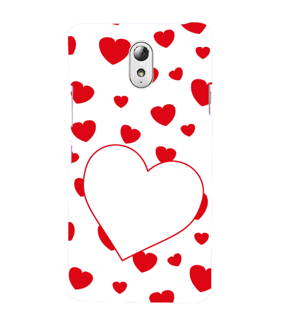 Loving Hearts Back Cover for Lenovo Vibe P1M