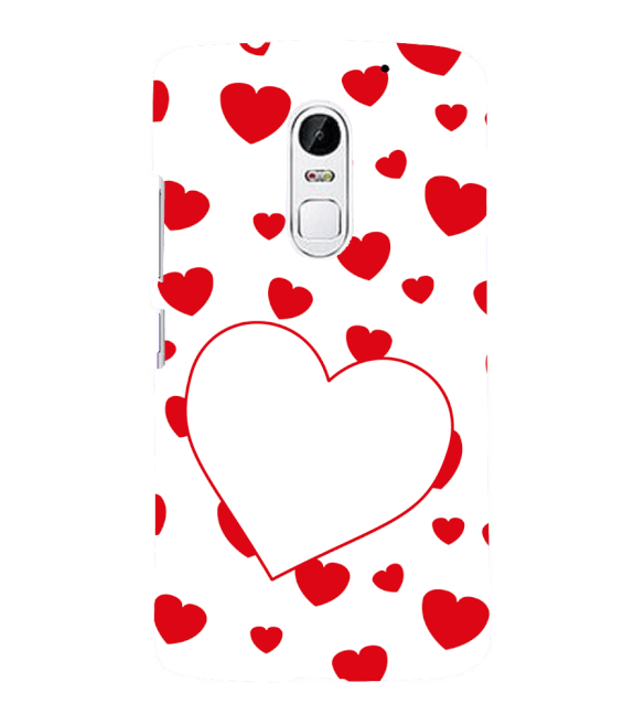 Loving Hearts Back Cover for Lenovo Vibe X3